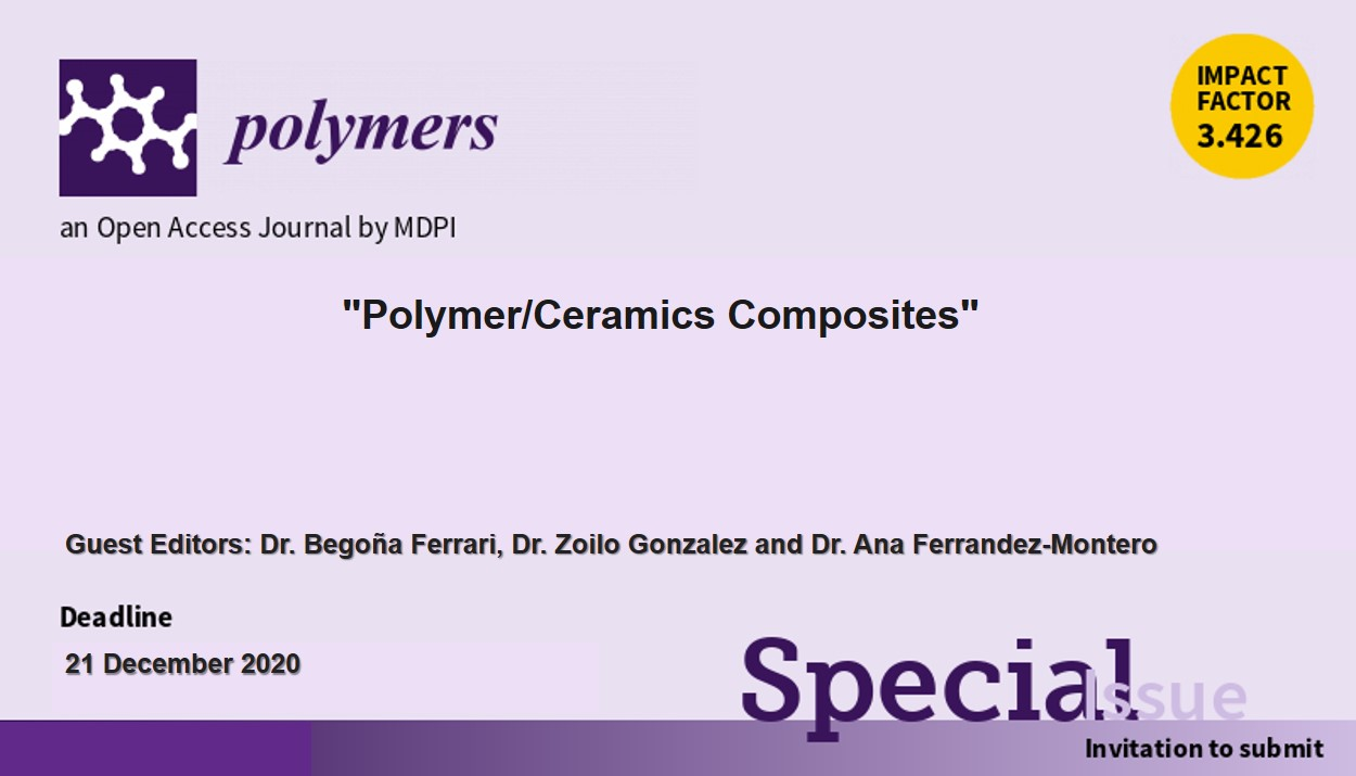 Special Issue Polymer/Ceramics Composties image